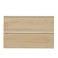 Façade de cuisine pliante relevante 1 porte Epura bois l. 90 cm