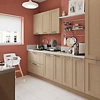 Façade de cuisine pour caisson hotte / casserolier GoodHome Alpinia Chêne l. 99.7 cm x H. 35.6 cm