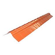 Faîtière pour plaque Ecolina rouge L.1,2 m