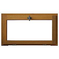 Fenêtre abattant bois 1 vantail - l.60 x h.45 cm