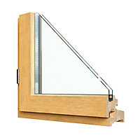 Fenêtre abattant bois GoodHome - l.120 x h.45 cm