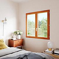 Fenêtre bois 1 vantail GoodHome - l.60 x h.95 cm, tirant droit