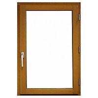 Fenêtre bois 1 vantail - l.80 x h.95 cm, tirant droit