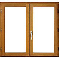 Fenêtre bois 2 vantaux - l.100 x h.145 cm, tirant droit