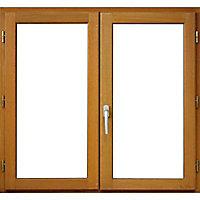 Fenêtre bois 2 vantaux - l.100 x h.60 cm, tirant droit