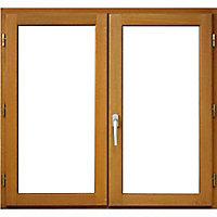 Fenêtre bois 2 vantaux - l.120 x h.125 cm, tirant droit