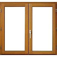 Fenêtre bois 2 vantaux - l.140 x h.95 cm, tirant droit