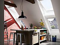 Fenêtre de toit à rotation VELUX Confort Everfinish - polyuréthane L. 78 x H. 98 cm (GGU 0076 MK04)