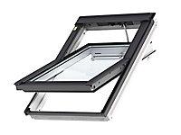 Fenêtre de toit à rotation VELUX Confort Whitefinish - bois peint en blanc L. 134 x H. 98 cm (GGL 2076 UK04)