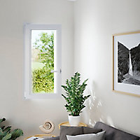 Fenêtre PVC 1 vantail oscillo-battant GoodHome blanc - l.80 x h.135 cm, tirant droit