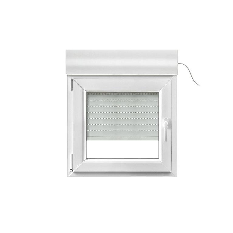 fenêtre pvc 1 vantail oscillobattant  volet roulant