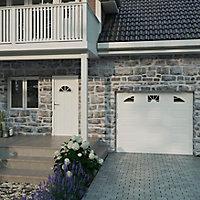 Fenêtre PVC 2 vantaux oscillo-battant GoodHome blanc - l.100 x h.75 cm