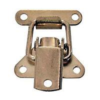 Fermoir levier Acier laitonné l. 33 mm x H. 60 mm