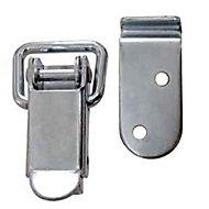 Fermoir levier cadenas l. 24 mm x H. 70 mm
