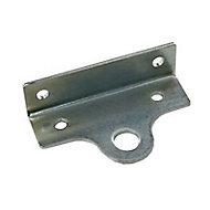 Fermoir porte cadenas coude l. 40 mm x H. 67 mm