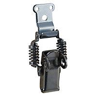 Fermoir à ressort Diall acier zingué H. 52 x l. 35 mm