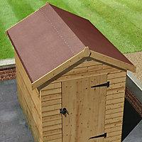 Feutre bitumé performance Roof pro rouge 10 x 1 m