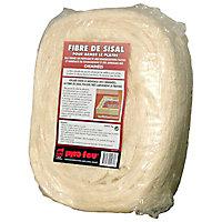 Fibre de sisal pour armer le plâtre en bobine de 1 kg