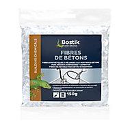 Fibres de Bétons Bostik Synthètiques pour Mortiers et Bétons 150g