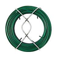 Fil d'acier revêtement PVC Diall ø1.4 mm, 50 m