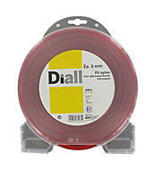 Fil de nylon carré Diall 3mm 44m
