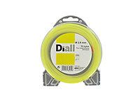 Fil de nylon rond Diall Ø1,6mm 15m