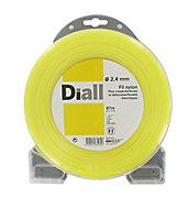Fil de nylon rond Diall Ø2,4mm 87m