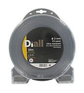 Fil de nylon titanium Diall Ø3mm 56m