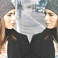 Film de vitrage miroir sans tain 100 x 90 cm