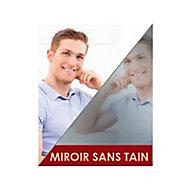 Film de vitrage miroir sans tain 250 x 90 cm