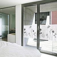 Film occultant statique pour vitre d-c-fix® Premium Blossom 1.5m x 0.45m