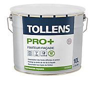 Fixateur façade Tollens Pro+ blanc 10L