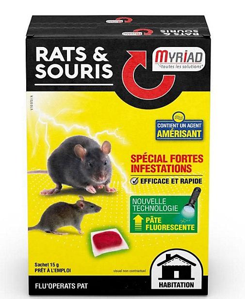 Flu Operats Rats Et Souris Myriad 120g 25 Gratuit Castorama