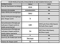 Four multifonctions nettoyage catalyse Beko BQM22301BCS 70L noir