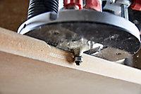 Fraise de défonceuse Universal 8 mm, en coffret de 15 pièces