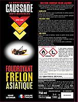 Frelon asiatique Caussade 750ml