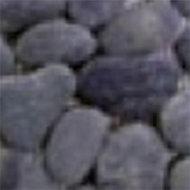 Frise galet rond noir 10 x 30 cm Swabina
