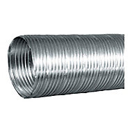 Gaine flexible en alu compact 1.5 m, ø125 mm