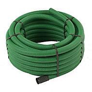 Gaine pour réseaux enterrés verte Ø 40 mm x 25 m