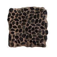 Galets ronds noir 30 x 30 cm Swabina