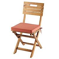 Galette de chaise GoodHome Tiga mango 40 x 40 cm