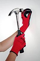 Gants en polyester latex Site - Taille 9 (L)