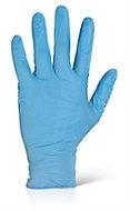 Gants nitrile jetables bleu, paquet de 100 Ocai - Taille 8 (M)
