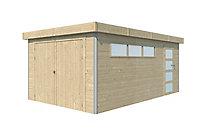 Garage bois Lindo 2 16,8m²