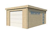 Garage bois Nacka 2 19,17m²