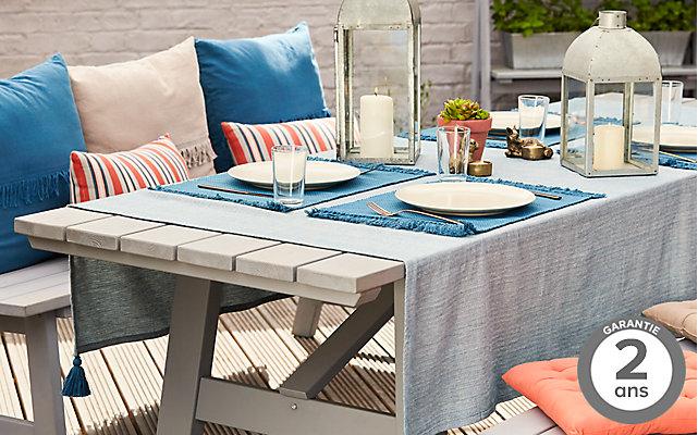 castorama blooma table de jardin