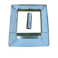 Garniture de cheminèe TM 50 x 50 zinc