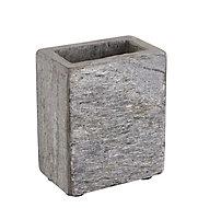 Gobelet plastique ardoise aspect pierre Urca