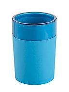 Gobelet plastique mat bleu Doumia