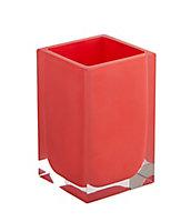 Gobelet résine brillant rouge Capraia